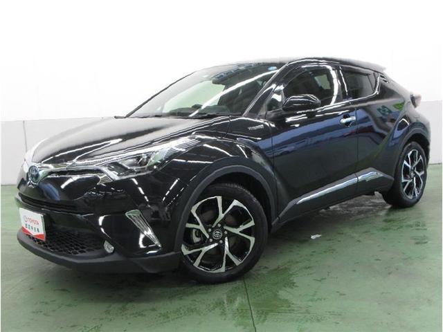 トヨタ C-HR G LEDエディション 衝突被害軽減ブレーキ メモリナビ フルセグTV バックガイドモニター LEDライト クルーズコントロール