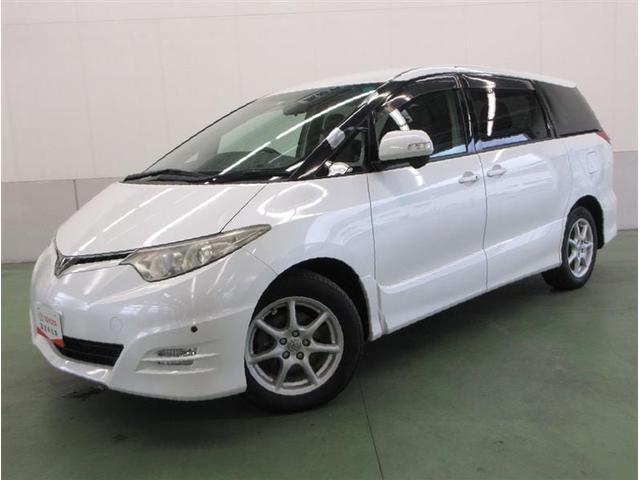 トヨタ アエラス 4WD HDDナビフルセグバックモニター HIDライト 8人乗り 社外ETC イモビライザー 純正アルミ