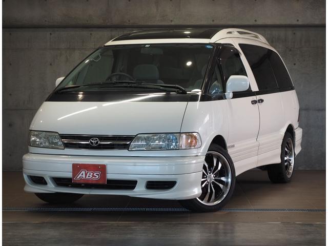 沖縄の中古車 トヨタ エスティマ 車両価格 46万円 リ済別 1999(平成11)年 13.1万km ホワイト