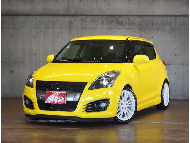 沖縄県の中古車ならスイフトスポーツ 6速MT ビルシュタイン車高調 モンスタースポーツマフラー