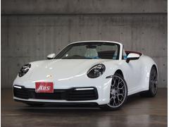 911911カレラ カブリオレ 新992 白革 赤幌 エグゾースト