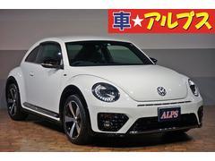 VW ザ・ビートルRライン 1オーナー HID 純正ナビ Bカメラ 18AW