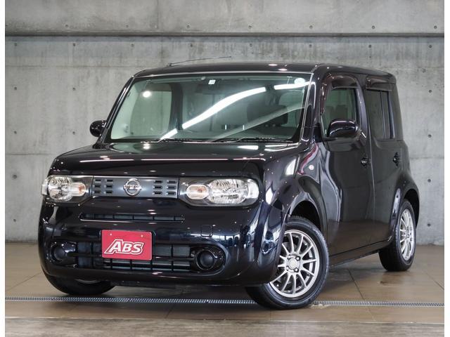 沖縄の中古車 日産 キューブ 車両価格 48万円 リ済別 2011(平成23)年 5.2万km ブラック