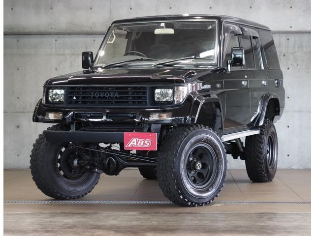 沖縄の中古車 トヨタ ランドクルーザープラド 車両価格 245万円 リ済別 1994(平成6)年 24.0万km 替ブラック
