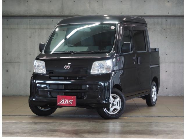 沖縄の中古車 ダイハツ ハイゼットカーゴ 車両価格 74万円 リ済別 2009(平成21)年 14.0万km ブラック