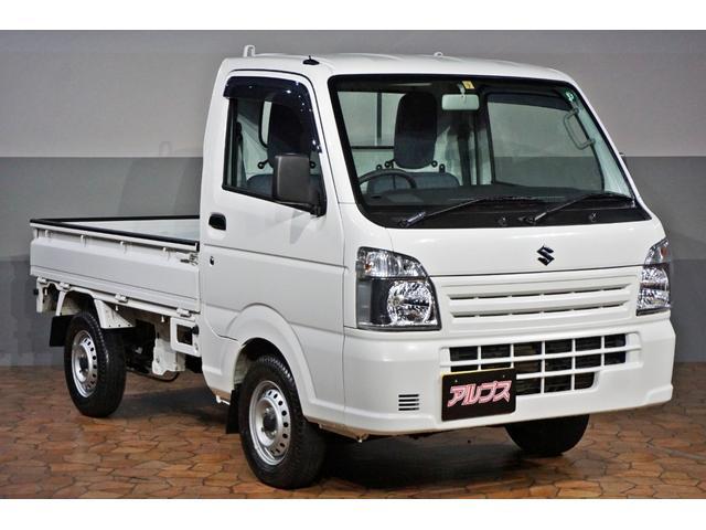 スズキ キャリイトラック KCエアコン・パワステ ユーザー買取 5速MT 4WD エアコン パワステ