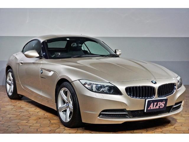 BMW Z4 sDrive23i ブラックレザー シートヒーター 純正HDDナビ HIDライト キーレス 純正17インチアルミ TV視聴