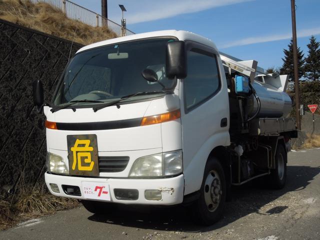 トヨタ タンクローリー SS400鋼板タンク