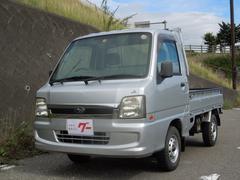 サンバートラックエアコン パワステ 4WD 5速マニュアル