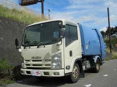 エルフトラックパッカー車 バックカメラ