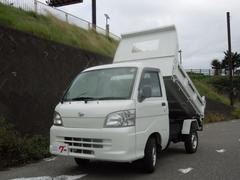 ハイゼットトラックダンプ エアコン パワステ 4WD