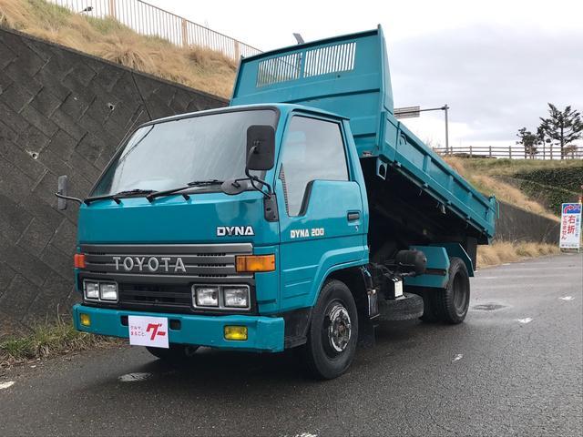 トヨタ スライドダンプ 2WD ディーゼル 5速マニュアル パワステ