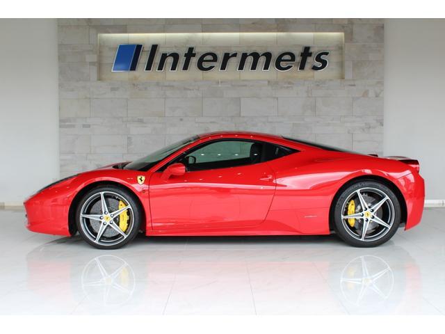 フェラーリ ベースグレード ディーラー車 フル電動シート フロントサスペンションリフト