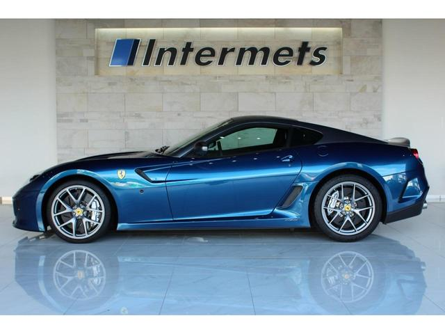 フェラーリ 599 GTO ディーラー車 ブルーアブダビ
