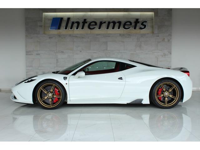 フェラーリ 458スペチアーレ 1315km Ferrari 7年メンテ該当車 EU新車並行
