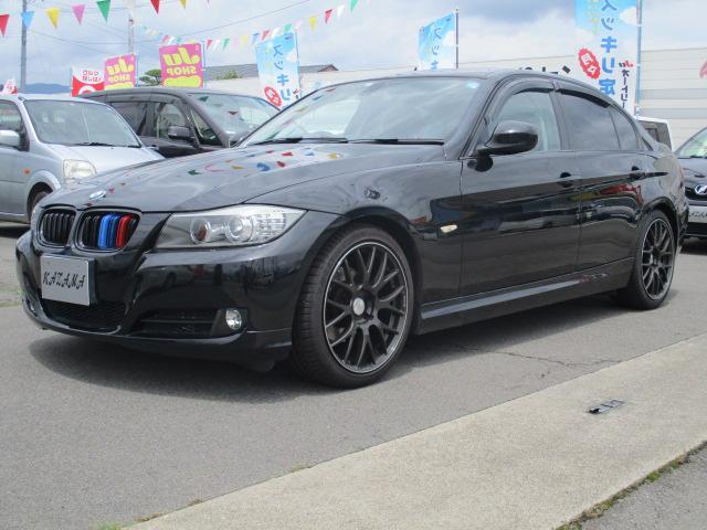 BMW 320i 18インチアルミ バックカメラ 社外グリル HID