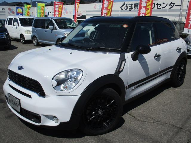 MINI クーパーS クロスオーバー オール4サンルーフ付 4WD