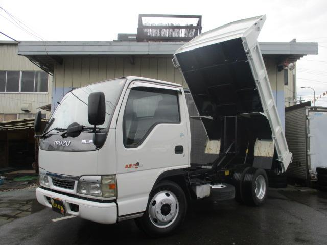 いすゞ  4.8ダンプ 八都県市適合車 積載3t ETC