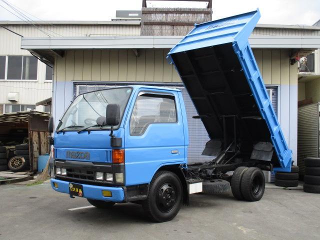 マツダ タイタントラック ワイドロードカロクダンプ マニュアル ディーゼル車 積載量2トン パワステ