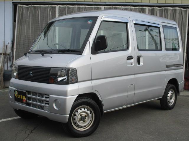 三菱 ミニキャブバン CL パートタイム4WD キーレス エアコン パワステ