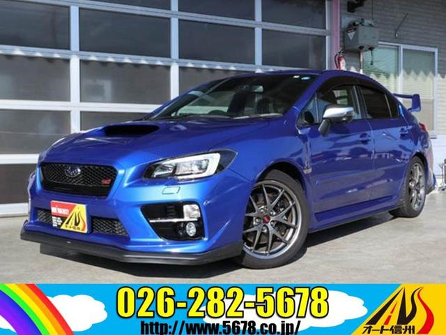 スバル STI タイプS 4WD 6MT ワンオーナー ターボ