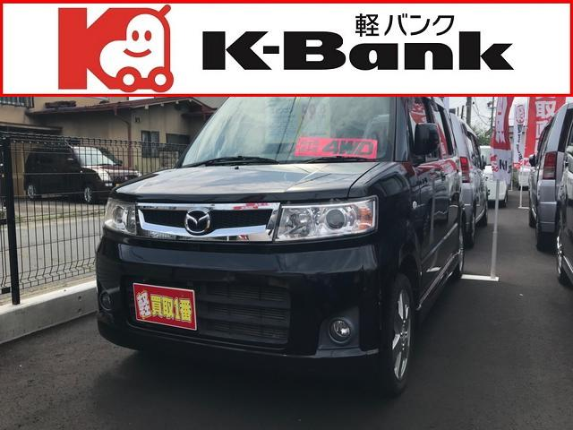 マツダ カスタムスタイル 4WD ブルーイッシュブラックパール3