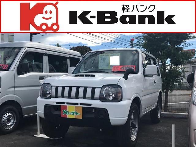 スズキ XG 軽自動車 4WD スペリアホワイト AT AC