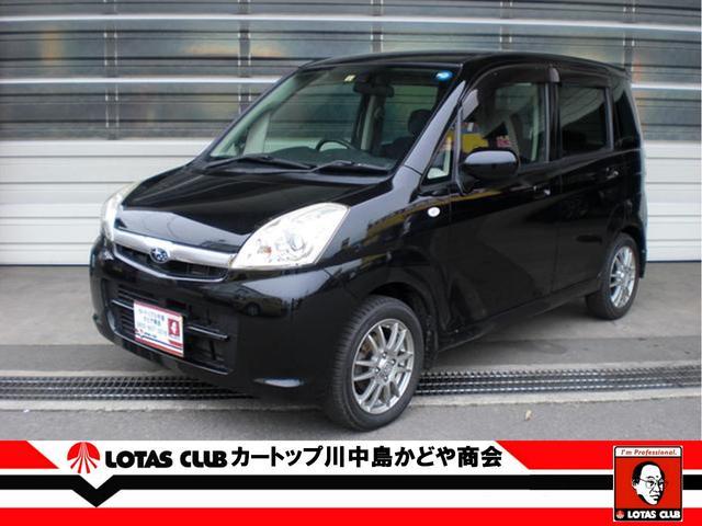 スバル L ブラックインテリアセレクション 4WD スマートキー