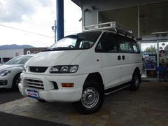 デリカスペースギアXE 4AT 4WD ルーフキャリア付