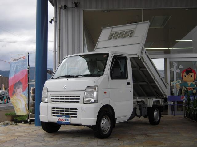 スズキ キャリイトラック ダンプ 4WD 5MT エアコン