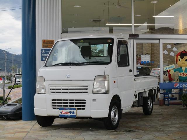 スズキ キャリイトラック KCパワステ農繁仕様 4WD 5MT エアコン パワステ デフロック
