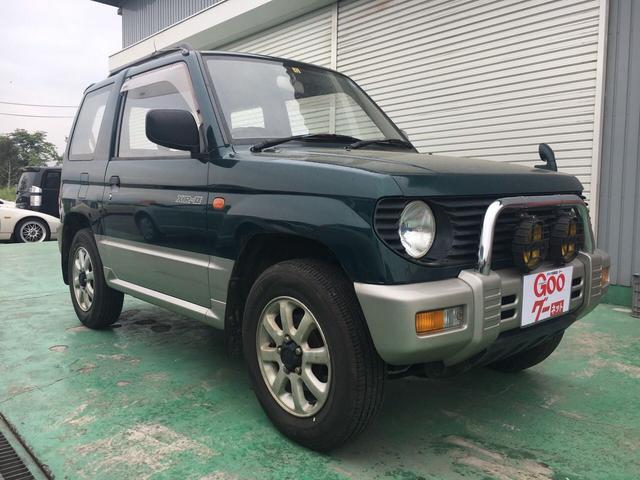 三菱 XR-II 4WD 5速マニュアル アルミホイール