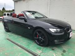 BMW335iカブリオレ 赤革 ナビTVバックカメラ ディーラー車