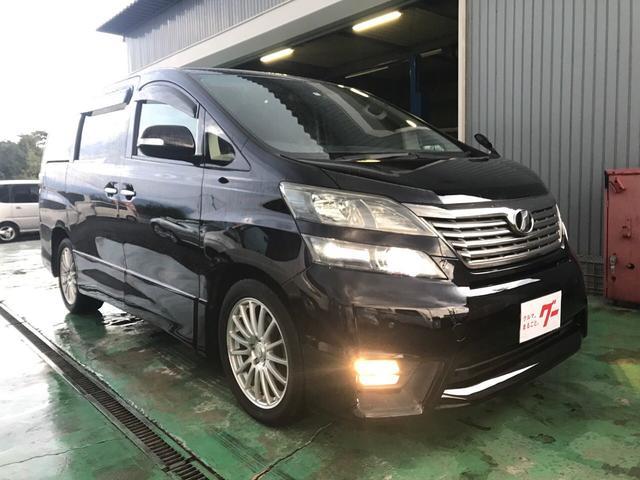トヨタ 2.4Z プラチナセレクションII 4WD 7人 ナビ TV