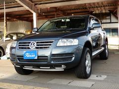 VW トゥアレグV6 4WD バックカメラ 電動革シート