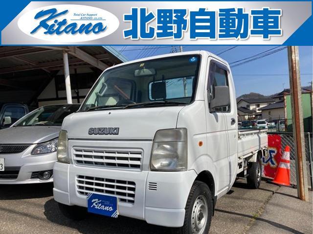スズキ キャリイトラック KCパワステ 4WD MT 軽トラック