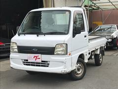 サンバートラックTB 4WD エアコン パワステ 5MT ラジオ