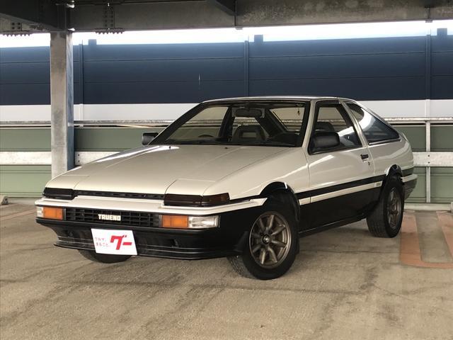トヨタ GT APEX ワタナベアルミ 社外ステアリング