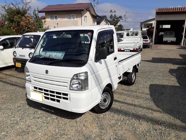 スズキ KCエアコン・パワステ 4WD 5速MT ナビ TV 走行31800km