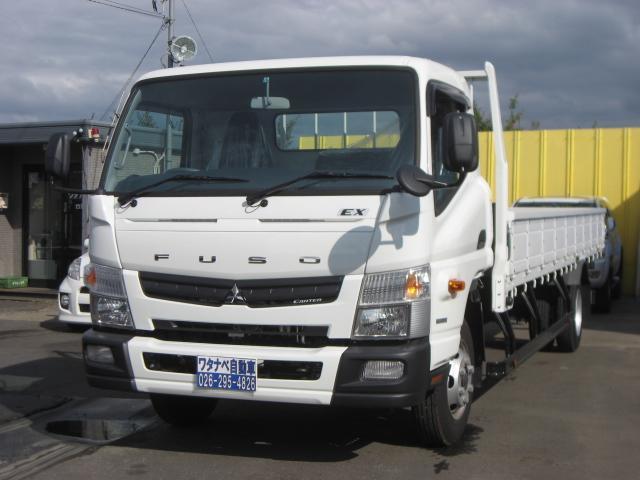 三菱ふそう EX 4.45t 超超ロング 平 荷台6.2m FED90