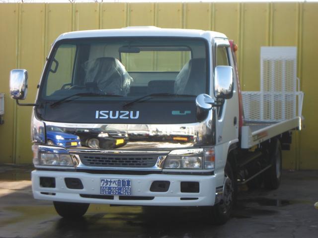 いすゞ 3t 積載車 ユニック キャリアカ- ラジコン ターボ
