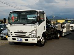 エルフトラック3.25t 積載車 フルフラット 三方開 5.2ターボ