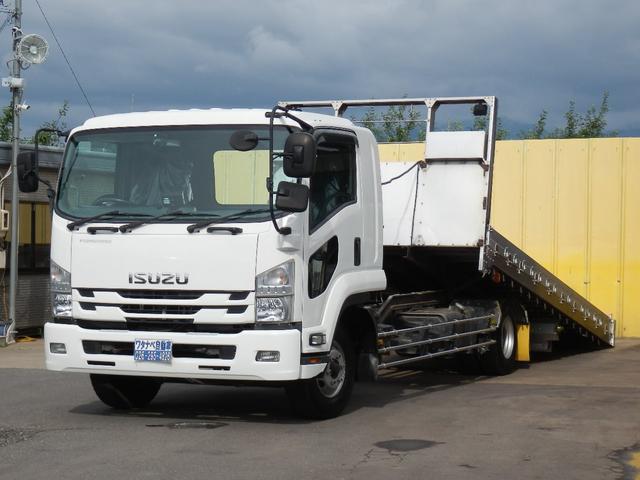 いすゞ 増トン ワイド ローダー 運搬車 アイバワークス