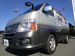 キャラバン4WD ロングGX キャリア付