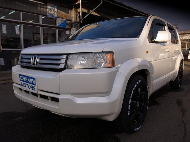 ホンダ HDDナビエディション4WD禁煙車ワンオーナー