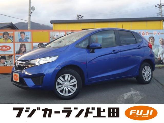 ホンダ 13G・Fパッケージ 4WD ワンオーナー 純正SDナビ