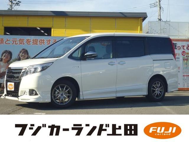 トヨタ ハイブリッドGi 純正ナビ&TV ワンオーナー 合皮レザー