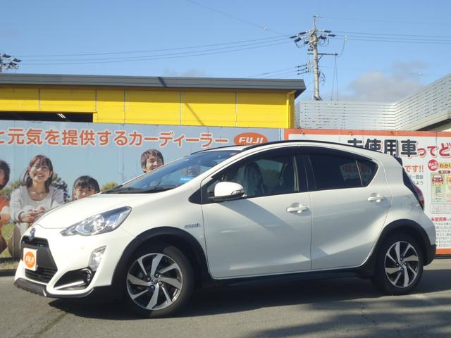 トヨタ X-アーバン ソリッド トヨタセーフティセンス 純正ナビ
