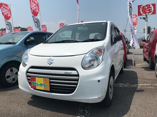 スズキ ECO-L 軽自動車 4WD スペリアホワイト