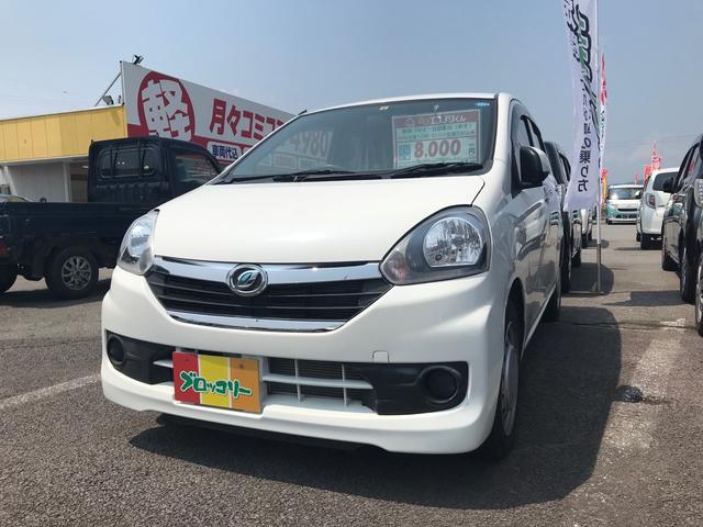 ダイハツ X 軽自動車 ホワイト 整備付 車検整備付 CVT AC
